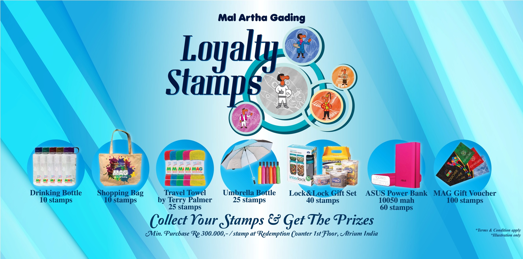 Loyalty Stamps 2016