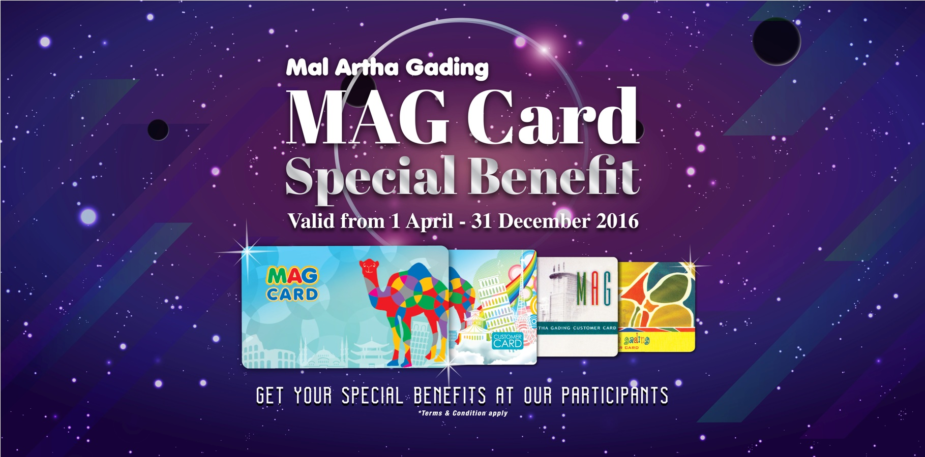 MAG Special Benefit Card