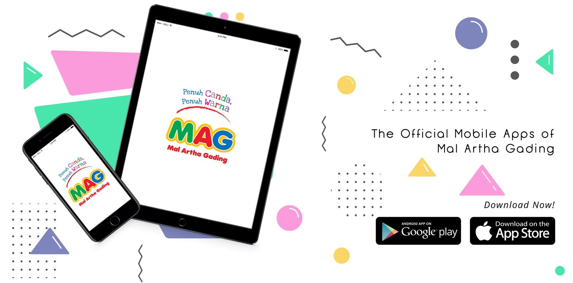 MAG Official Mobile Apps